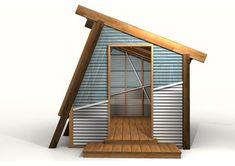 Modern Greenhouse - Modern - salt lake city - by Kingbird Design LLC Indoor Greenhouse, Backyard Greenhouse, Greenhouse Plans, Tyni House, Tiny House Cabin, Pallet Shed, Pallet House, Outdoor Rooms, Outdoor Gardens