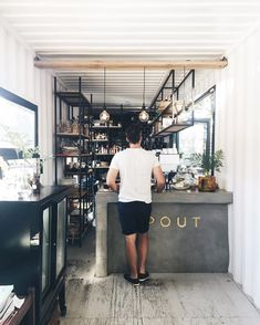 "manmakecoffee: ""Coffee shop spaces are my favorite kind """