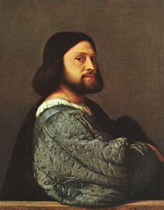 Portrait of a Man by TIZIANO Vecellio