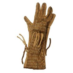 Egyptian Museum - Glove of King Tutankhamun - MAN MADE MATERIAL: LINEN   18TH DYNASTY