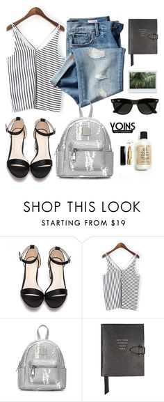 """""""Packing"""" by punnky ❤ liked on Polyvore featuring Gap, Smythson and Ray-Ban"""