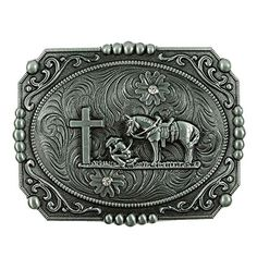 ecb354bc0cbe Buy Senmi Vintage Cowboy Prayer Belt Buckles- with Senmi Box Gift Wrapped -  Topvintagestyle.