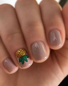 Try some of these designs and give your nails a quick makeover, gallery of unique nail art designs for any season. The best images and creative ideas for your nails. Do It Yourself Nails, How To Do Nails, Fun Nails, Prom Nails, Nice Nails, Tropical Nail Designs, Cute Nail Designs, Tropical Nail Art, Essie