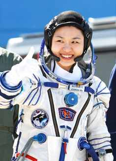South Korean astronaut Yi So-yeon became her country's first space traveler when she rode to the International Space Station on Russia's Soyuz TMA-12 in April 2008.