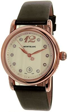 Montblanc Women's Star 102352 Brown Satin Swiss Quartz Watch https://www.carrywatches.com/product/montblanc-womens-star-102352-brown-satin-swiss-quartz-watch/ Montblanc Women's Star 102352 Brown Satin Swiss Quartz Watch  #rosegoldwatchladies