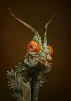 Mantis - photo by Igor Siwanowicz