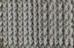My Tunisian Crochet: Tunisian Backwards Knit (Tbks)