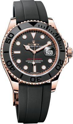 La Cote des Montres : La montre Rolex Oyster Perpetual Yacht-Master Everose 40mm et 37mm - Sport chic et technique