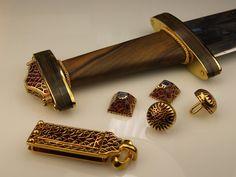 Danegeld Viking, Saxon & Medieval jewellery - film & TV - Gallery of commissions Medieval Jewelry, Viking Jewelry, Ancient Jewelry, Anglo Saxon History, Sutton Hoo, Viking Sword, Fantasy Art Women, Fantasy Sword, Ancient Vikings