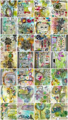 """""""Every Life Has a Story!"""" - {Roben-Marie Smith} - Art Journals in Review -2012"""