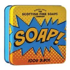 Scottish Fine Soaps Soap Pop Art Tin