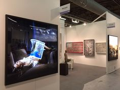 Visits us at @artmiaminewyork today from 12-8PM, booth B8 and B8b. #NewYork #DavidDrebin #DavidDatuna #ArtFair