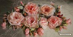 Ribbon roses  #PinkRoses