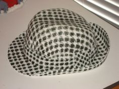 houndstooth hat cake