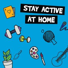 With many people working from home, it's even more important to fit some physical activity into your day. Here are some easy things you can do.