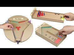 Wow! 3 Amazing DIY Desktop Game from Cardboard - YouTube