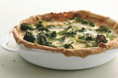 Broccoli Garlic Quiche