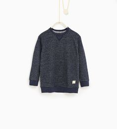 ZARA - SALE - Striped sweatshirt