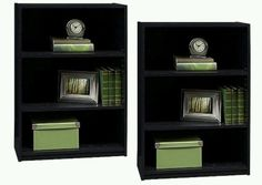 Book Shelves Book Cases bookcase Set of 2 Bookcases office furniture BOOK CASE