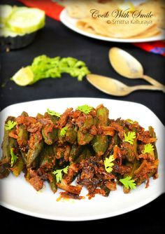 Bharwan Bhindi is actually stuffed lady's fingers .The stuffing can vary. This a…