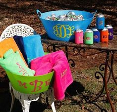 Monogramming everything. | 10 Southern Stereotypes That Are Totally True