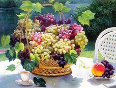 Виноград - Схемы вышивки - Miss_Ikss - Авторы - Портал «Вышивка крестом»
