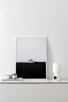 'Lonely House' print by Coco Lapine