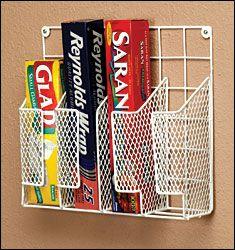 Wire Wrap Organizer - Organization & Decor - Kitchen - Walter Drake