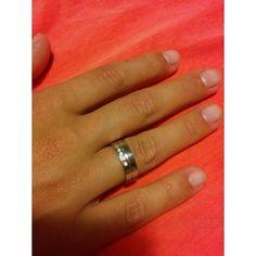 Aliança em Prata Lei 925  com 5 Zircónios Brancos Lei, Rings For Men, Jewelry, White People, Silver, Men Rings, Jewlery, Jewerly, Schmuck