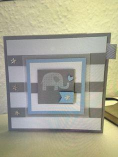 Ein Karte zur Geburt eines Jungen#karte#geburt#boy#card#