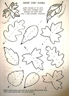 Autumn Activities For Kids, Kids Education, Nice, Fall, Autumn, Leaves, Drawing Drawing, Cuba, Craft Tutorials