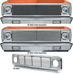 Custom Chrome Grille with 4MM or 8MM Billet