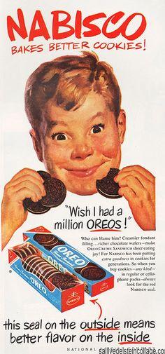Nabisco Cookie ad 1952