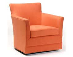 Vogel's swivel chairs are the best in the market, with its quality and style. Here's a bright orange swivel chair that is sure to bring you comfort and beauty at home! Swivel Chair, Armchair, Living Room With Fireplace, Living Room Furniture, Perth, House, Chairs, Bright, Orange
