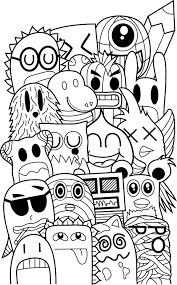 If Youre Looking For A More Character Based Coloring Book Youll Have Lots To Doodle At With Zifflins Invasion Featuring