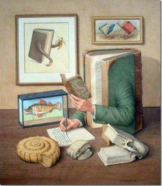 Los libros de Karmelo C.Iribarren.Ilustració de Jonathan Wolstenholme