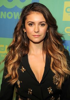 Nina Dobrev Debuts Blonde Ombre Hair: Picture - Us Weekly. next hair? Blond Ombre, Ombre Hair Color, Blonde Brunette, Blonde Hair, Nina Dobrev Hair Color, Nina Dobrev Makeup, Beach Wave Hair, Katherine Pierce, Celebrity Beauty