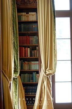 Library Drapes  :  ZsaZsa Bellagio