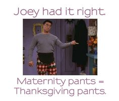 Happy Thanksgiving!  From www.HiptobeRound.com        #Maternity #thanksgiving #Humor #pregnancy