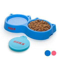 Cat Bowls Set of Silicone Food  #Animals