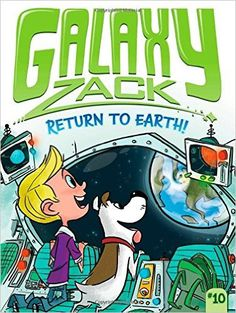Zack is a planet-hopping pro—but a return to Earth results in some unexpected puppy trouble in the tenth Galaxy Zack chapter book adventure.Zack is headed back to Earth for the first time since moving