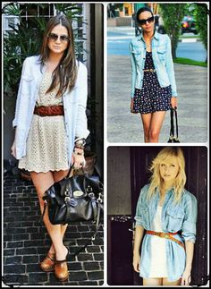Eclectic fashion Style/ Camisa Jeans  www.eclecticfashionstyle.blogspot.com.br