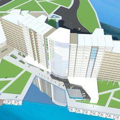 دانلود پروژه کامل هتل پنج ستاره(تمامی مدارک فنی،رندرهای باکیفیت Vray،برش های طولی وعرضی)