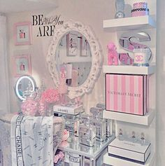 makeup makeup rooms Home Decor Ideas My New Room, My Room, Girls Bedroom, Bedroom Decor, Bedrooms, Bedroom Furniture, Bedroom Ideas, Furniture Ideas, Mirror Bedroom