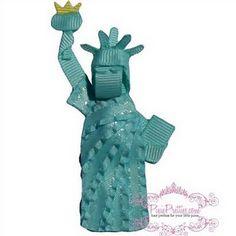 Statue of Liberty hair clip (CREATIVE!)