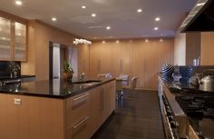 209 E Lake Shore Drive #1e - My ideal look of a luxury kitchen in a high rise condo.