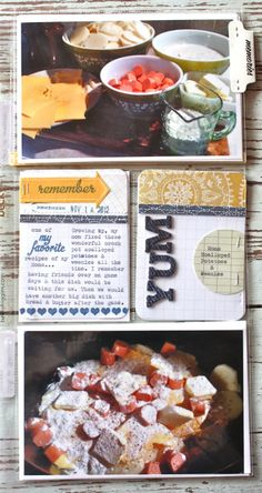 Mish Mash: Project Life 2012...Week 45 & Week 46 - journal cards
