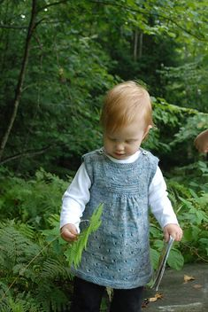Ravelry: Paulette pattern by Nadia Crétin-Léchenne, FINGERING, not free, 6mo-10yrs.