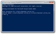 Configure Git in PowerShell So You Don't Have to Enter Your Password All the Damn Time