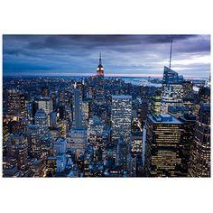 """Trademark Art """"New York City, NY"""" Canvas Art by Yakov Agami"""